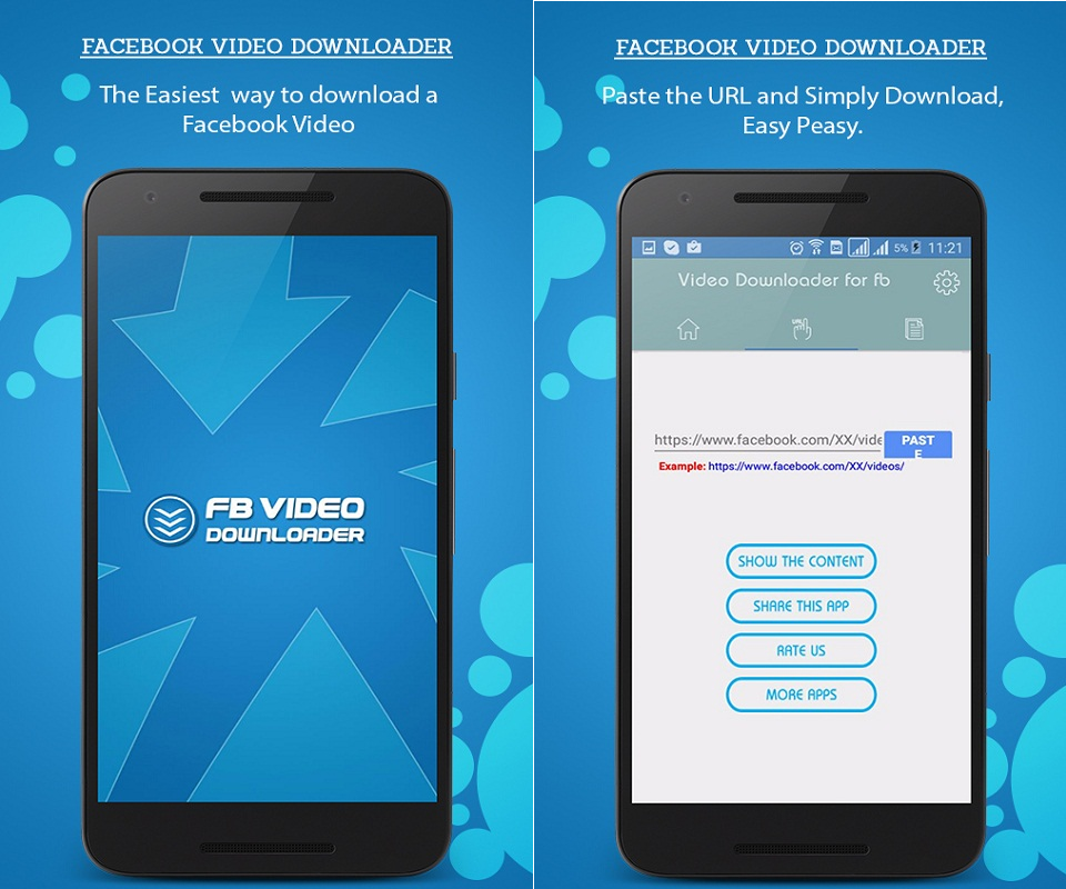 Facebook Video Downloader Screenshot 2