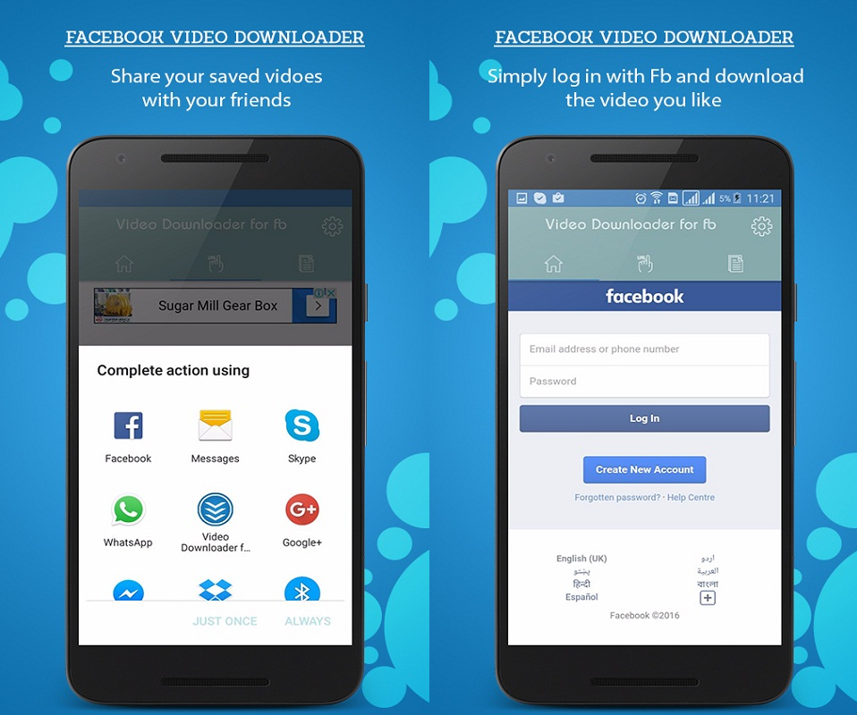 Facebook Video Downloader Screenshot 3