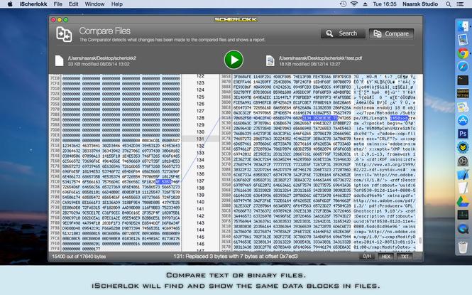 Scherlokk Screenshot