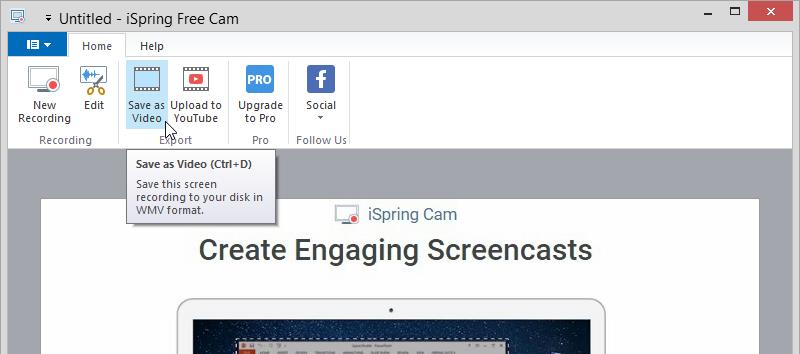 iSpring Free Cam Screenshot 4