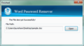 iSunshare Word Password Remover 3