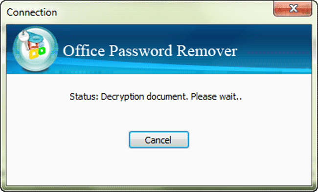 iSunshare Office Password Remover Screenshot 3