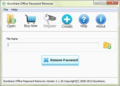 iSunshare Office Password Remover 1