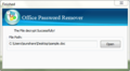 iSunshare Office Password Remover 4