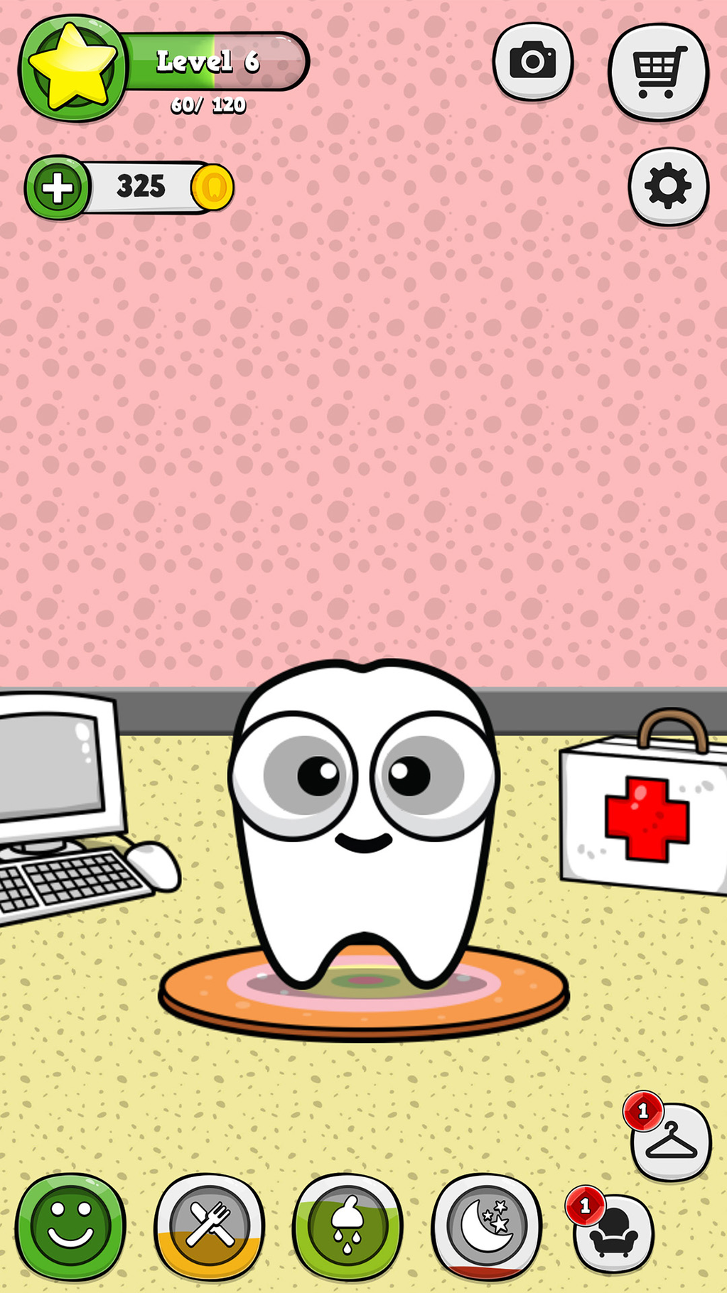 My Virtual Tooth - Virtual Pet Screenshot 1