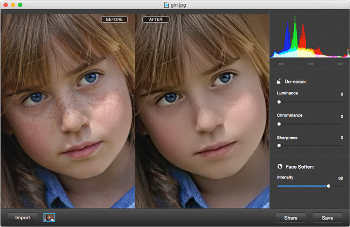 iFotosoft Photo Denoise for Mac Screenshot 2