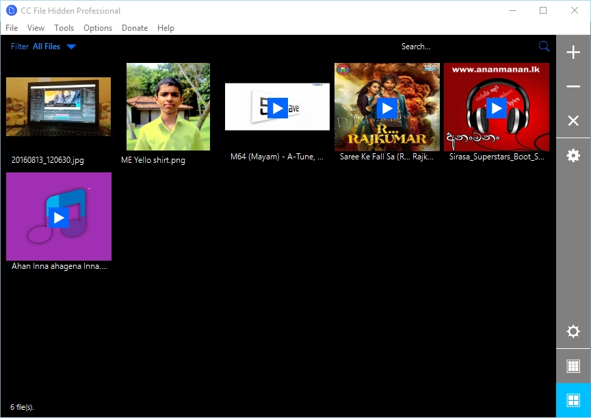 CC File Hidden Professional 2016 Screenshot 2