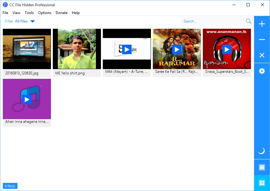 CC File Hidden Professional 2016 Screenshot 1