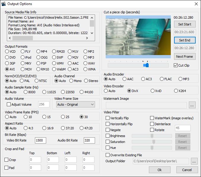 3nity Video Converter Screenshot 2