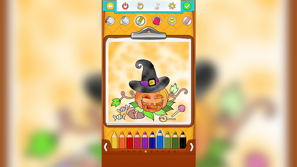 Halloween Coloring Pages Screenshot 3