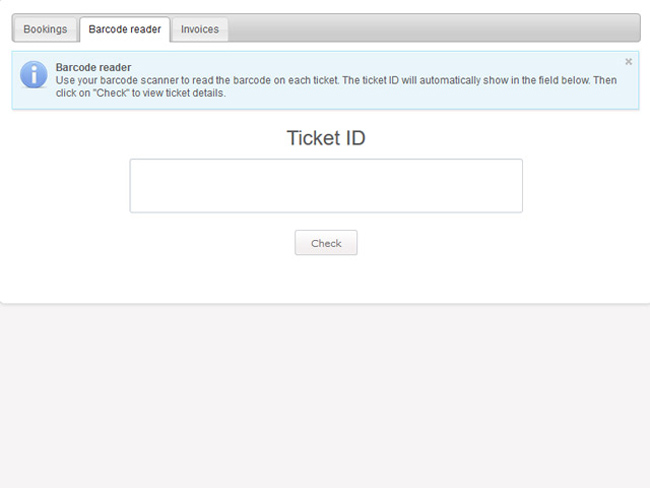 Event Ticketing System Screenshot 7