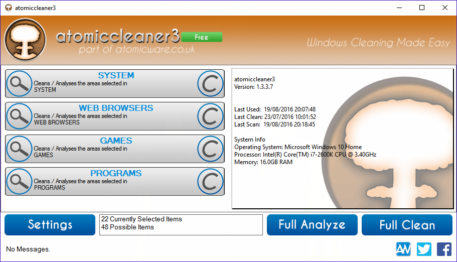 atomiccleaner3 Screenshot