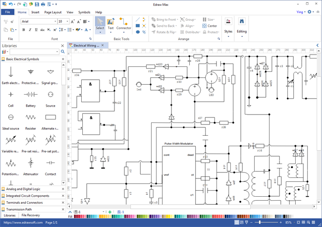Schematics Maker Screenshot 1