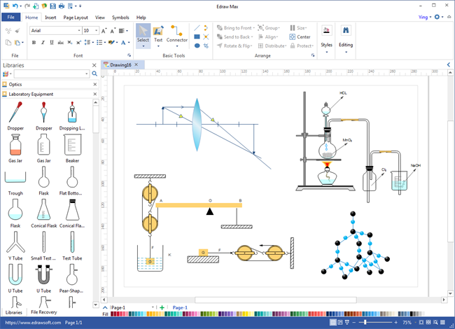 ScienceDraw Screenshot