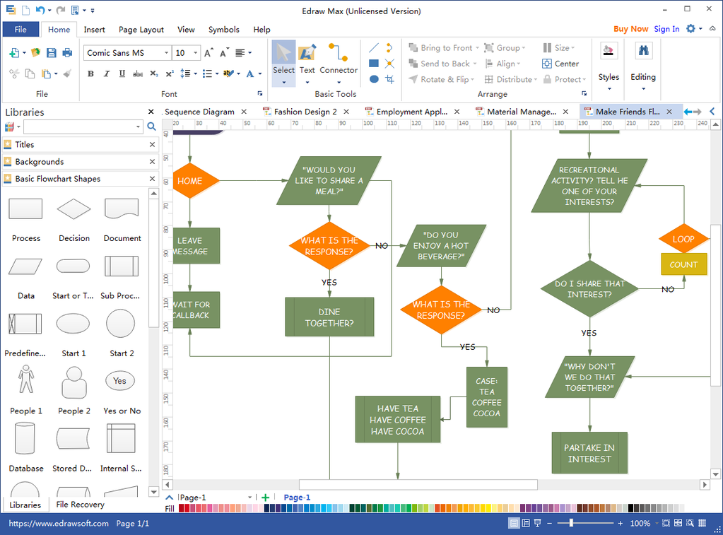 Flowchart Maker Screenshot 3