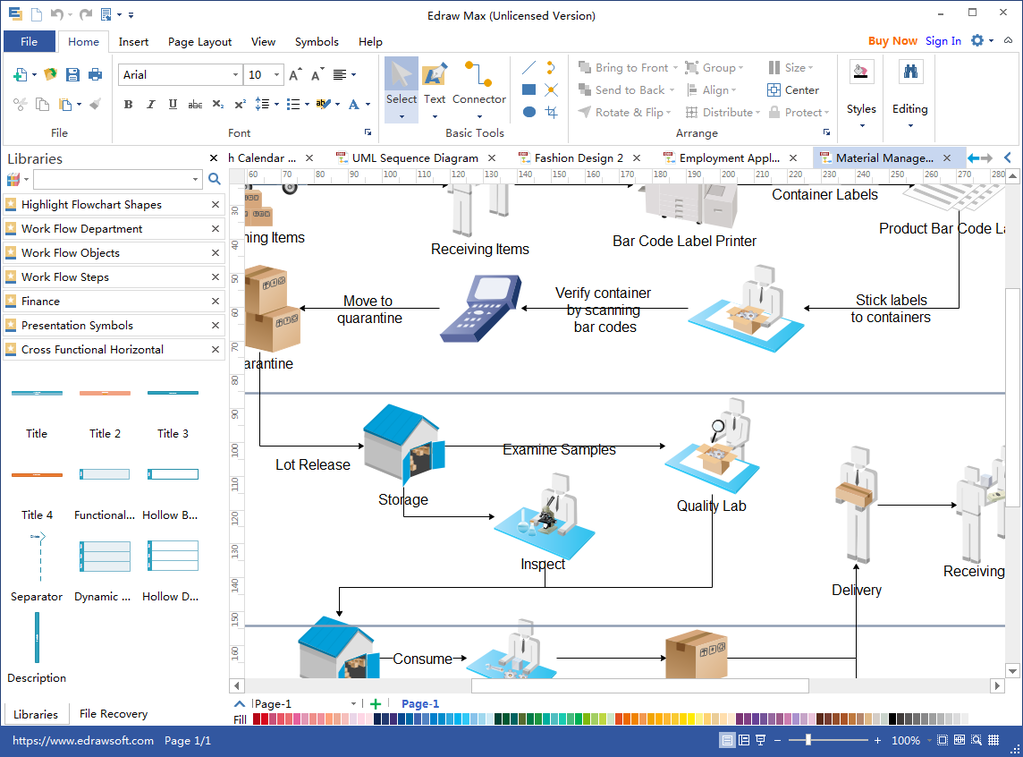 Flowchart Maker Screenshot 2