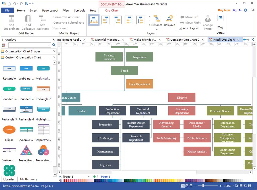Org Chart Creator Screenshot 2