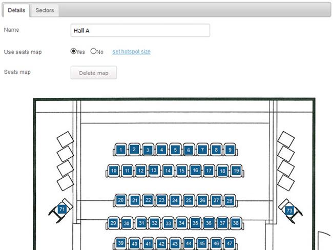 Cinema Booking System Screenshot 9