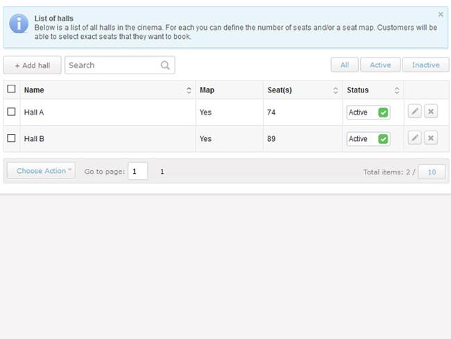 Cinema Booking System Screenshot 8