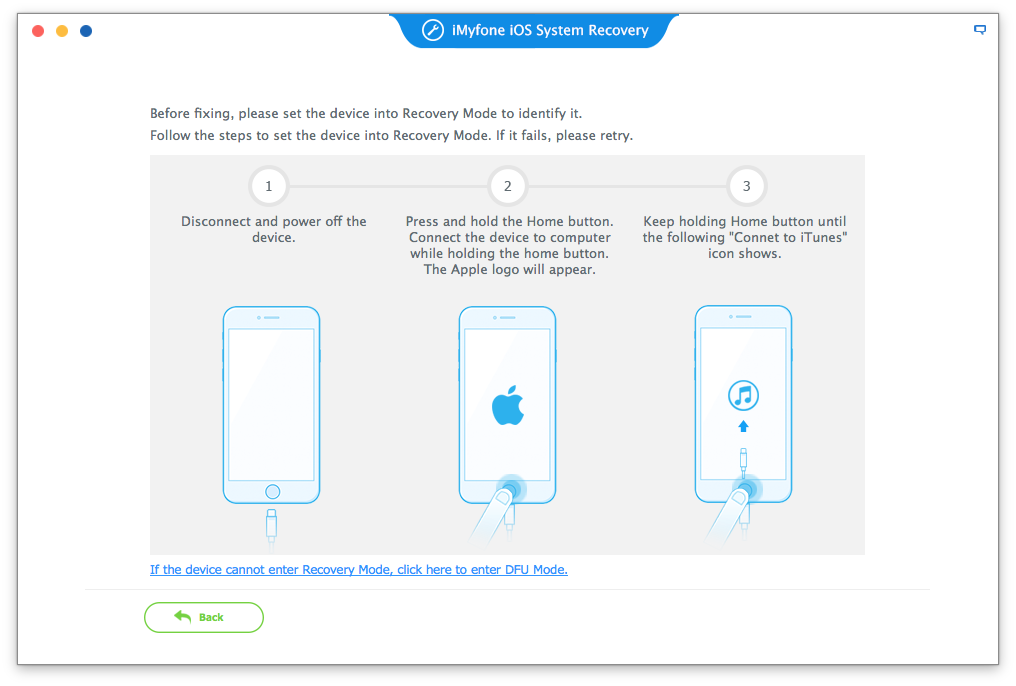 iMyFone iOS System Recovery for Mac Screenshot 5