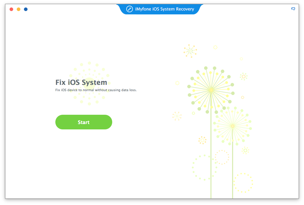 iMyFone iOS System Recovery for Mac Screenshot