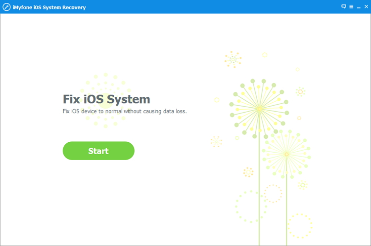 iMyFone iOS System Recovery Screenshot