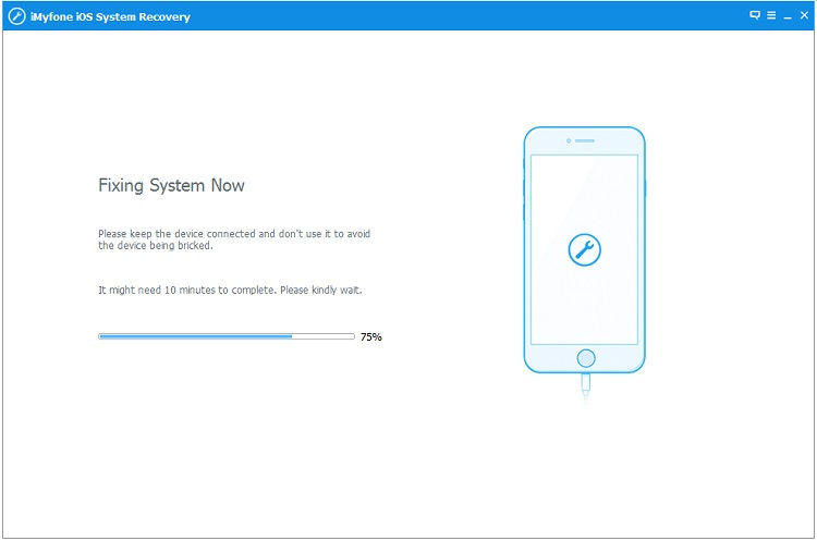 iMyFone iOS System Recovery Screenshot 5