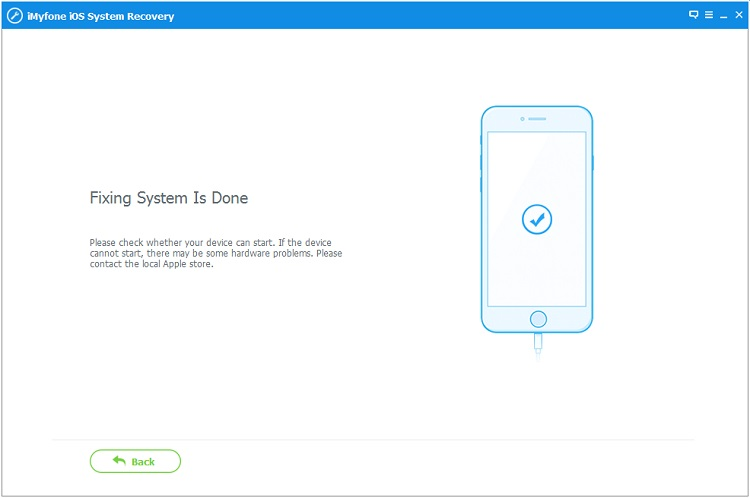 iMyFone iOS System Recovery Screenshot 6