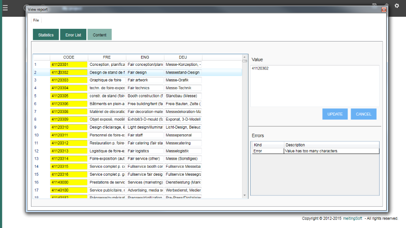 meltingSquare Checker Screenshot 1