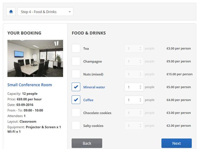 Meeting Room Booking System Screenshot 2