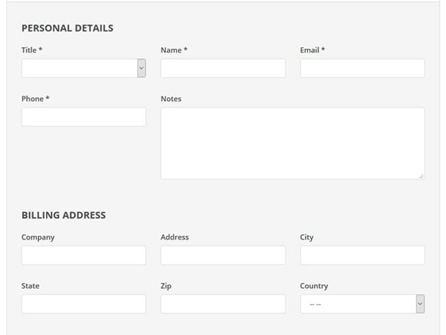 Meeting Room Booking System Screenshot 6