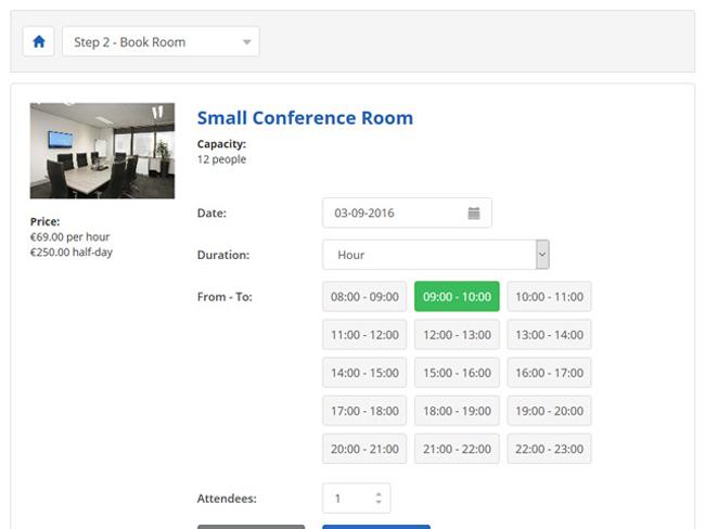 Meeting Room Booking System Screenshot 5