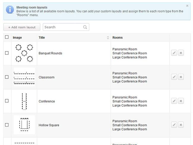 Meeting Room Booking System Screenshot 10