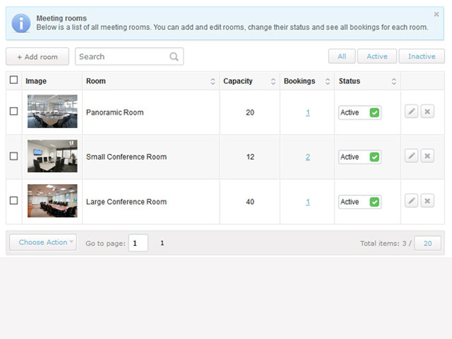 Meeting Room Booking System Screenshot 9