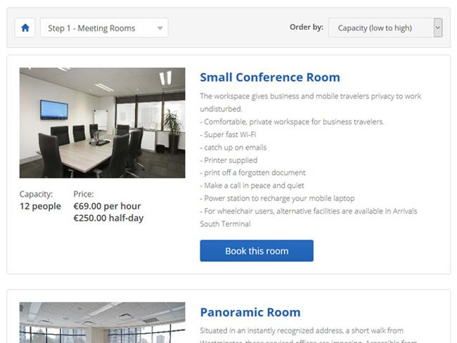 Meeting Room Booking System Screenshot 4