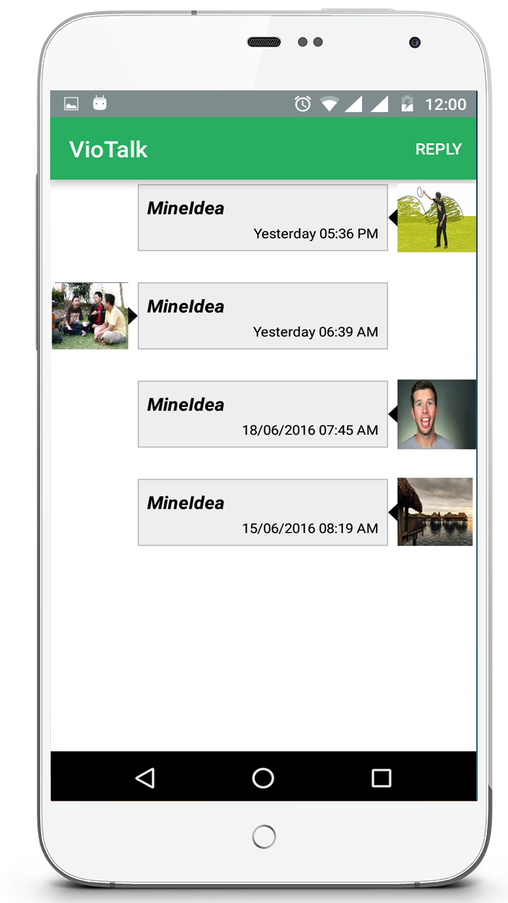 Viotalk instant video messaging Screenshot 2