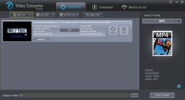 Dimo Video Converter Ultimate Screenshot 2