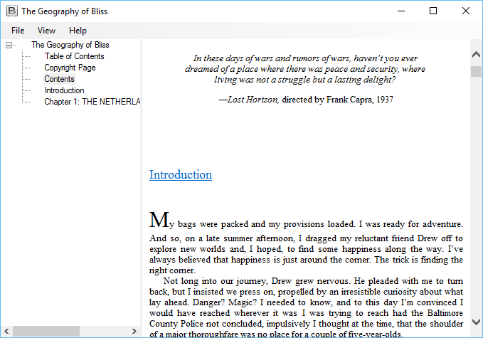 EPUB Viewer Screenshot 3