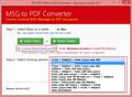 MSG to PDF Converter 2