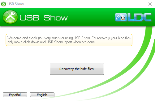 USB Show Screenshot