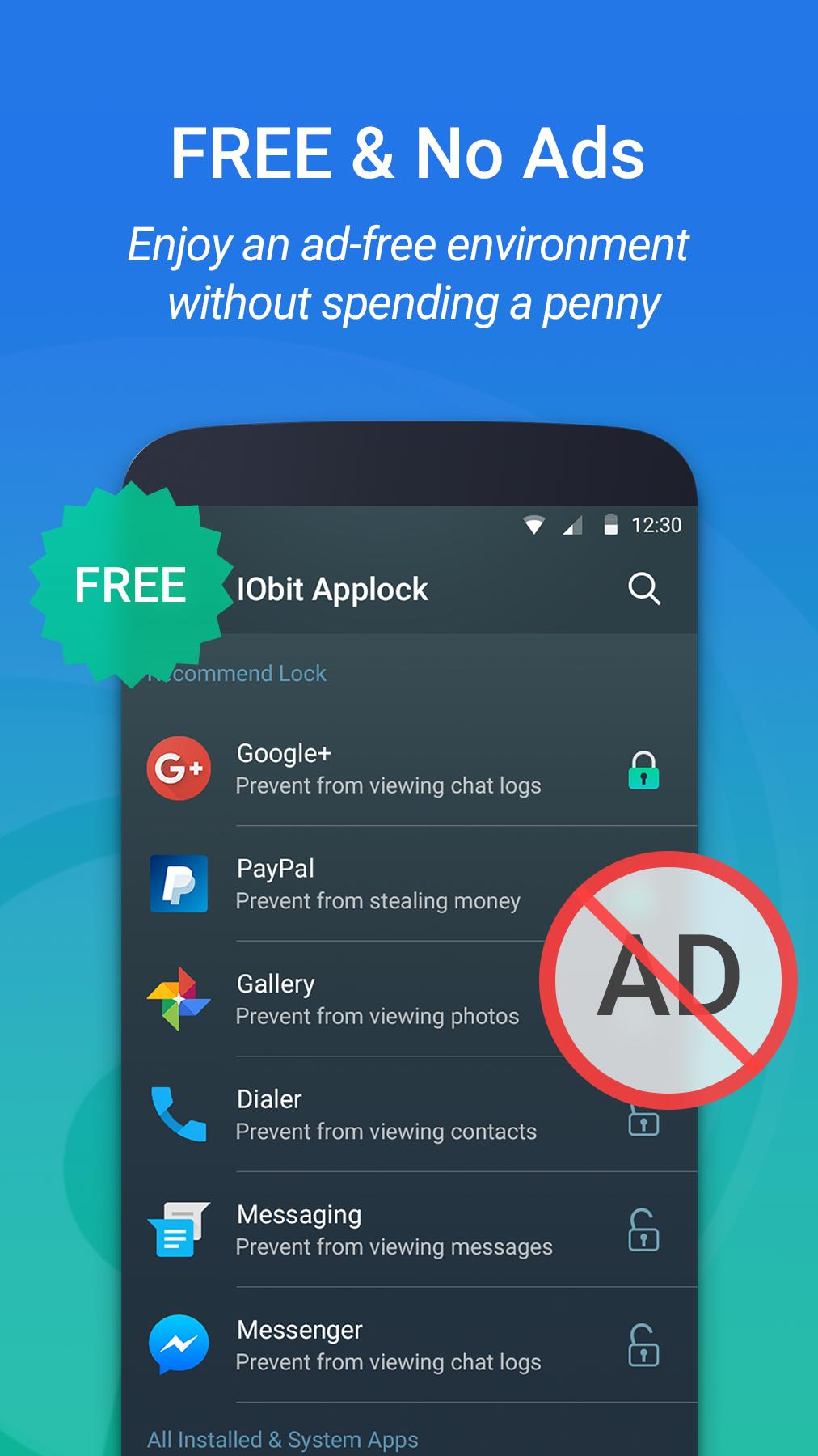IObit Applock -Privacy Protect Screenshot 3