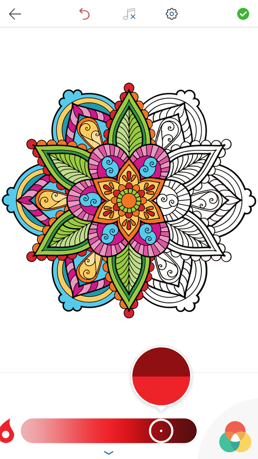 Mandala Coloring Pages Screenshot 3