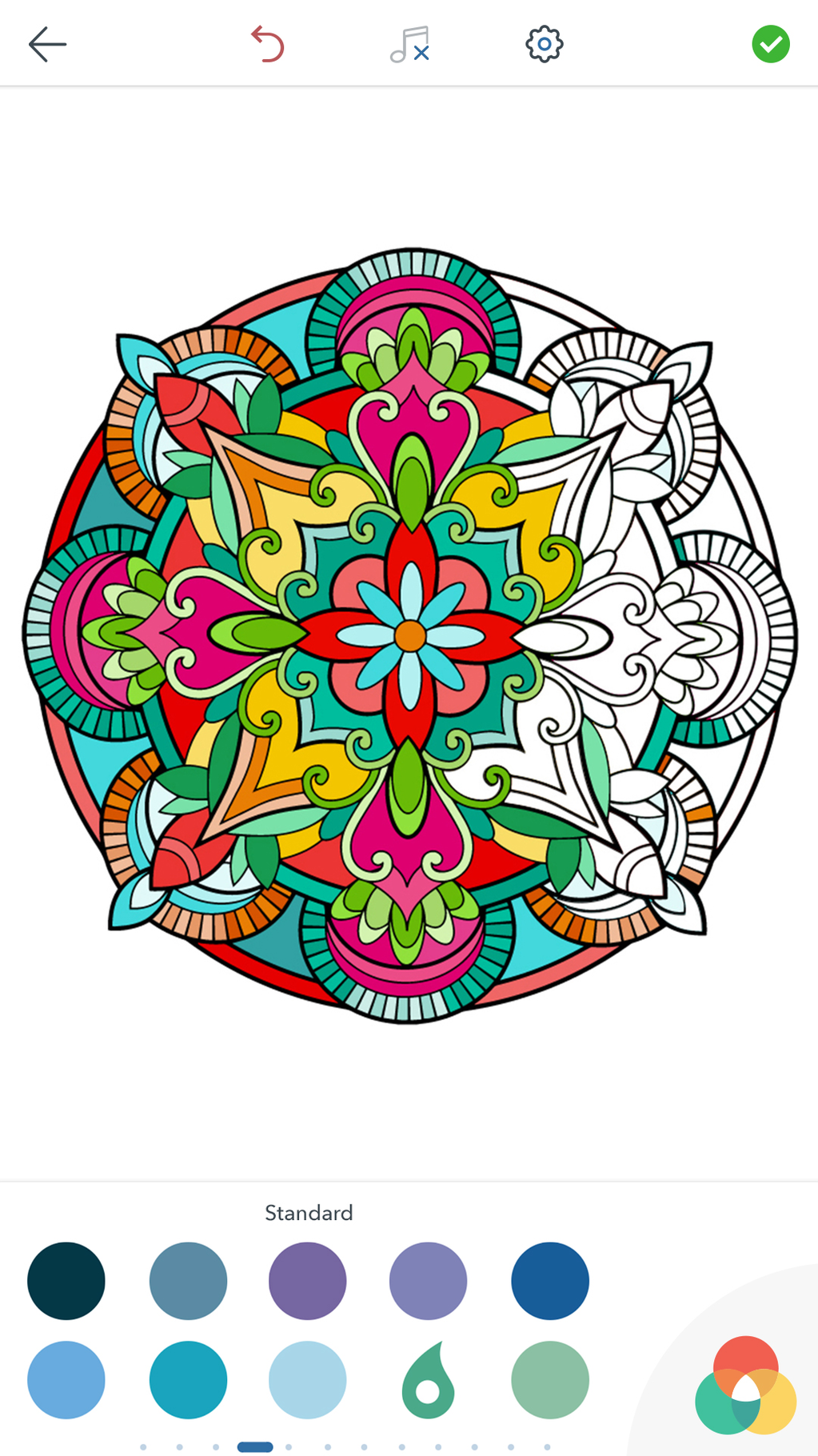 Mandala Coloring Pages Screenshot 6
