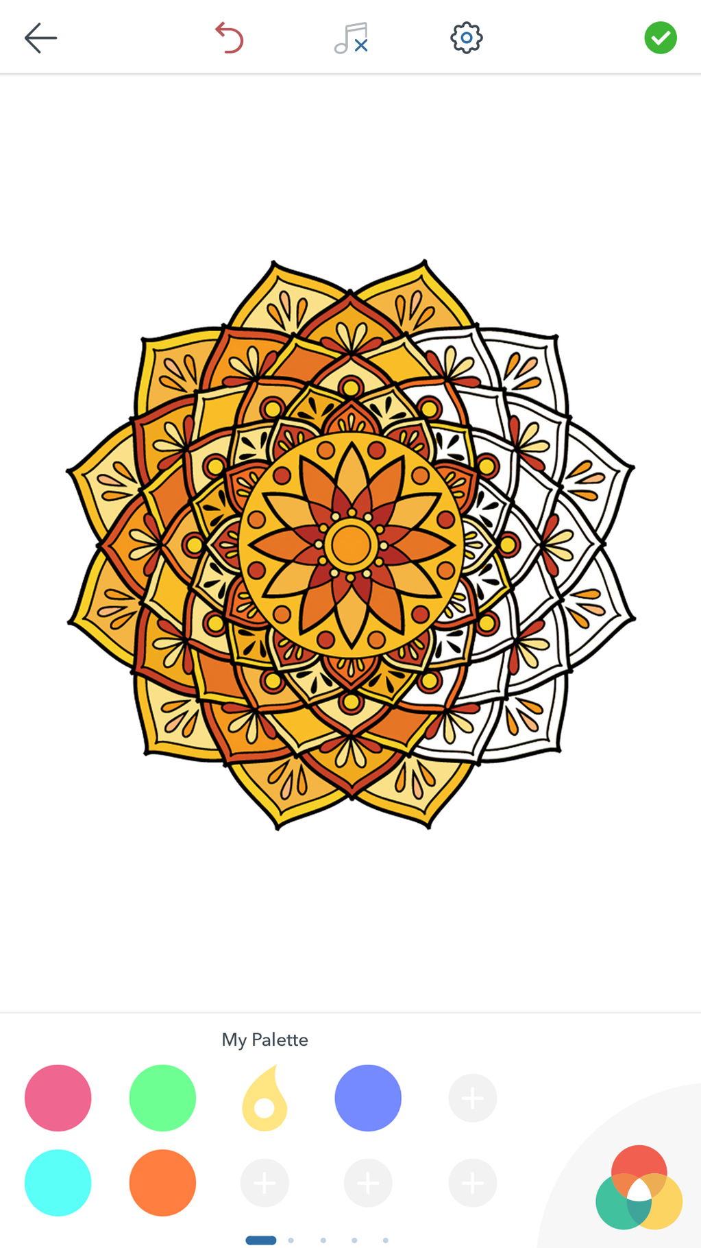 Mandala Coloring Pages Screenshot 5