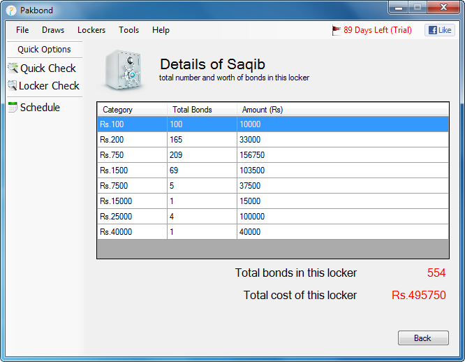 Pakbond Screenshot 4