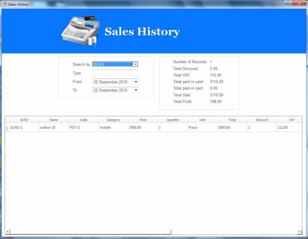 POS 1.0 Screenshot 4