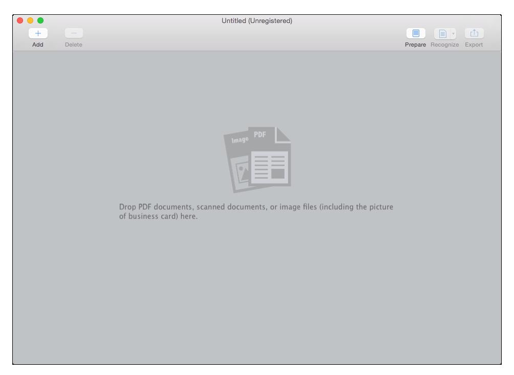 Cisdem OCRWizard for Mac Screenshot