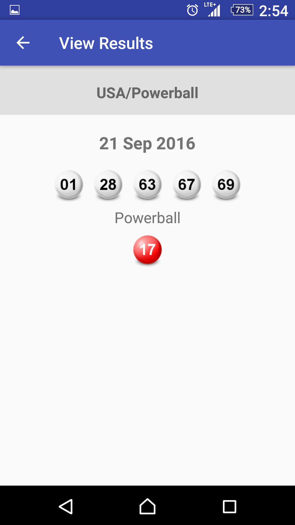magayo Lotto App Screenshot 4