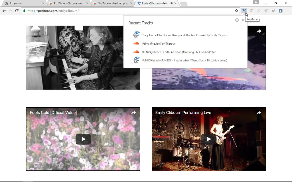 YouTube embedded player | PoziTone module Screenshot 3