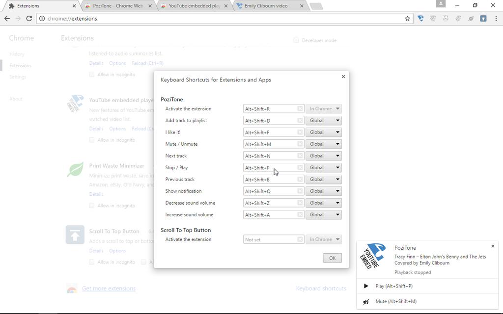 YouTube embedded player | PoziTone module Screenshot 2